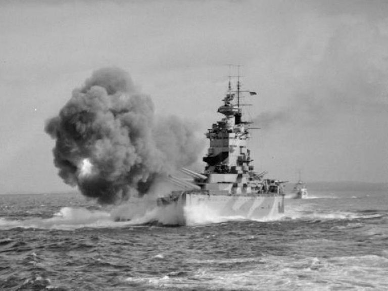 HMS Nelson in World War II