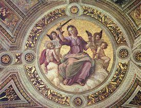 Justitia, by Raphael