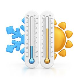 Cold and Hot thermometers