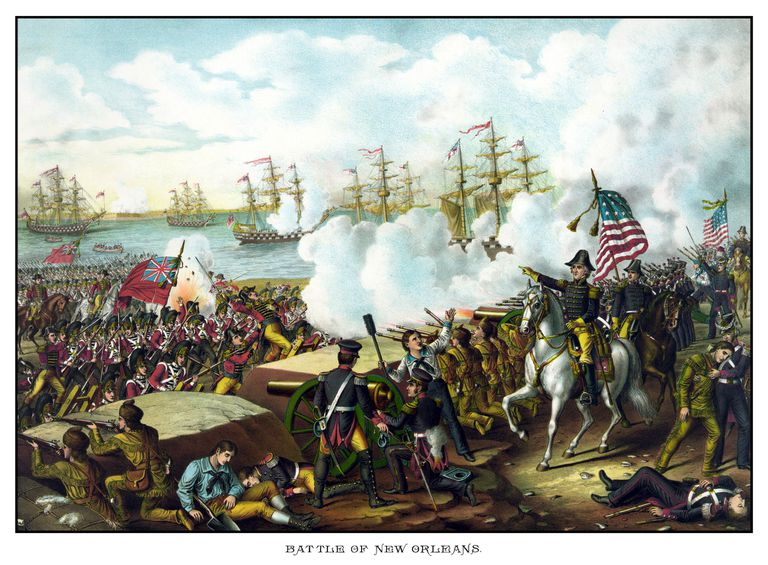 Battle of New Orleans, War of 1812