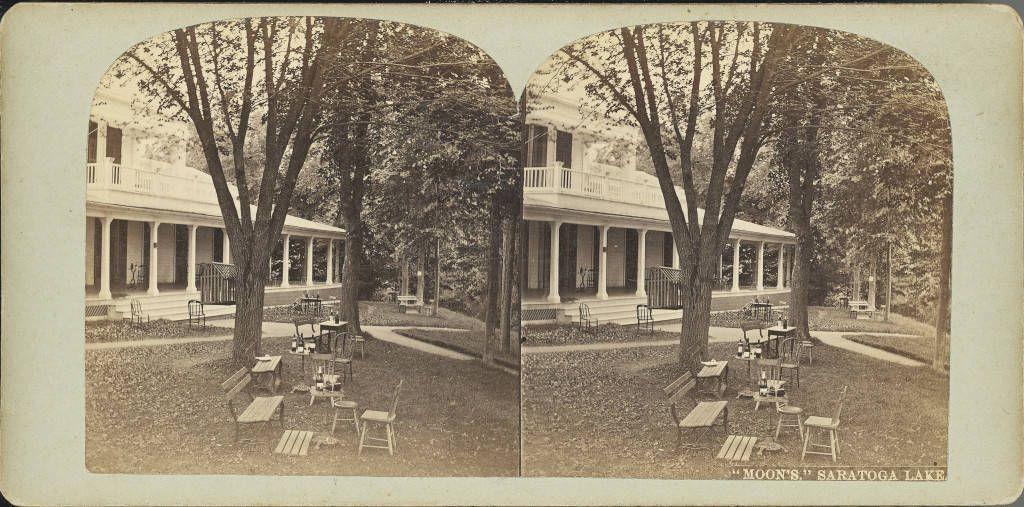 Moon's Lake House, Saratoga See, NY