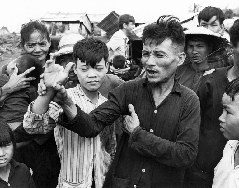 Victims of the My Lai Massacre in Vietnam
