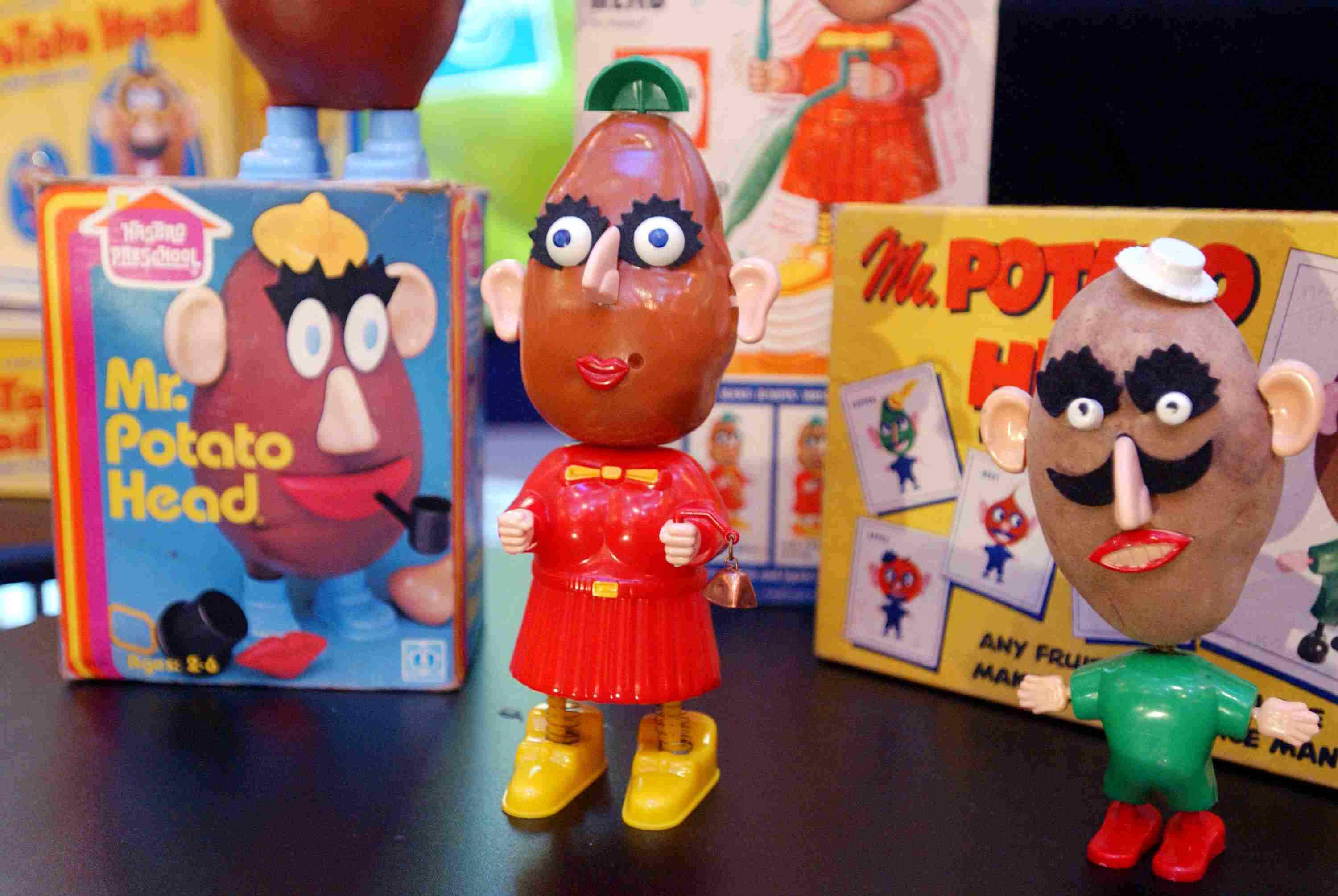 The History of Mr Potato Head