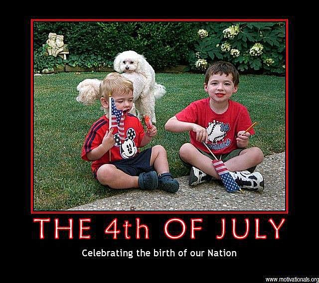 Dogs Photoa Th Of July Photo Of Two Boys