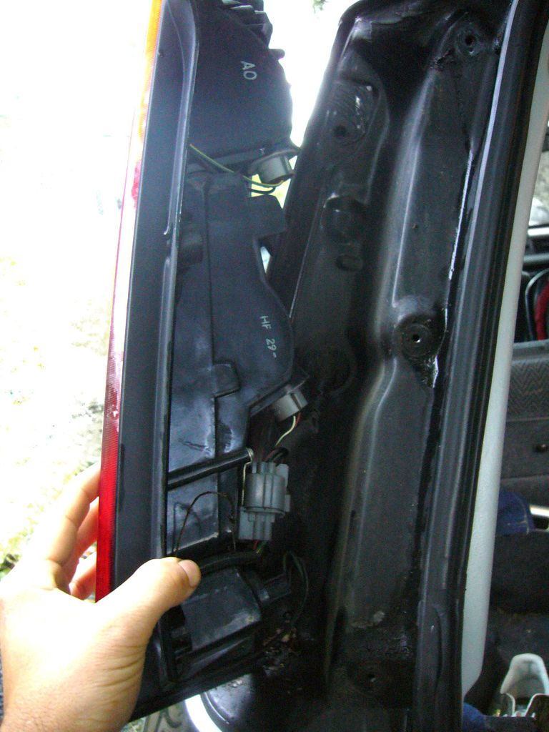 Remove The Assembly For Bulb Replacement Tail Lamp