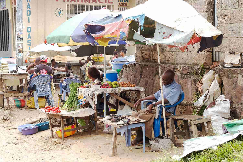 Market Stall, Kinshasa
