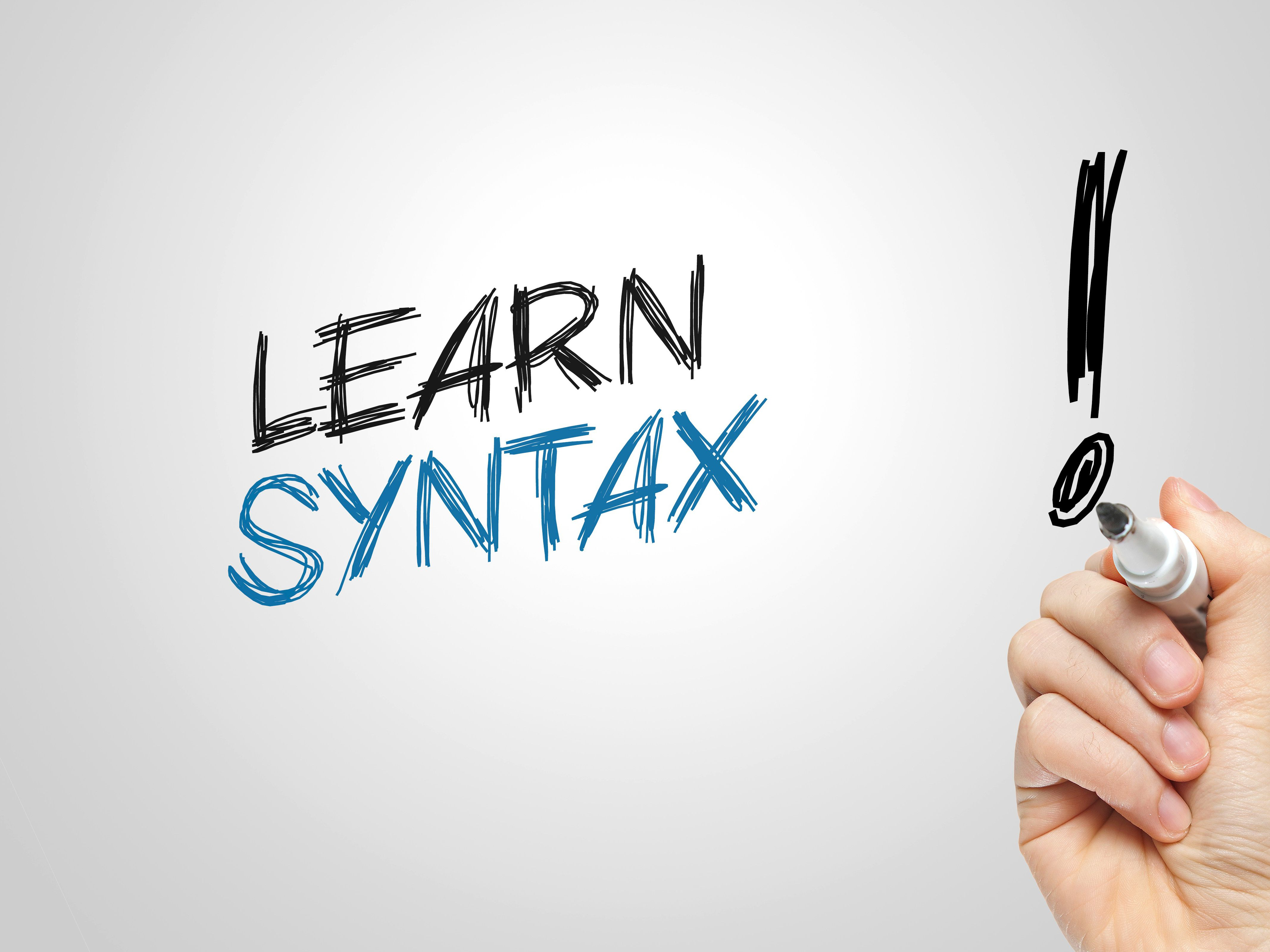 Syntax Definition And Examples