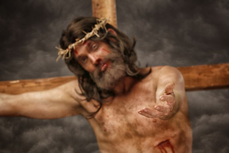 Jesus Christ crucifixion cross stigmata
