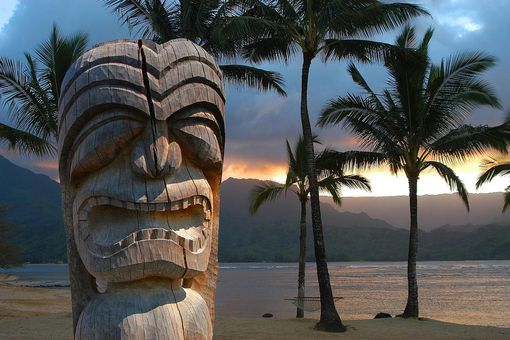Hawaiian Tiki God