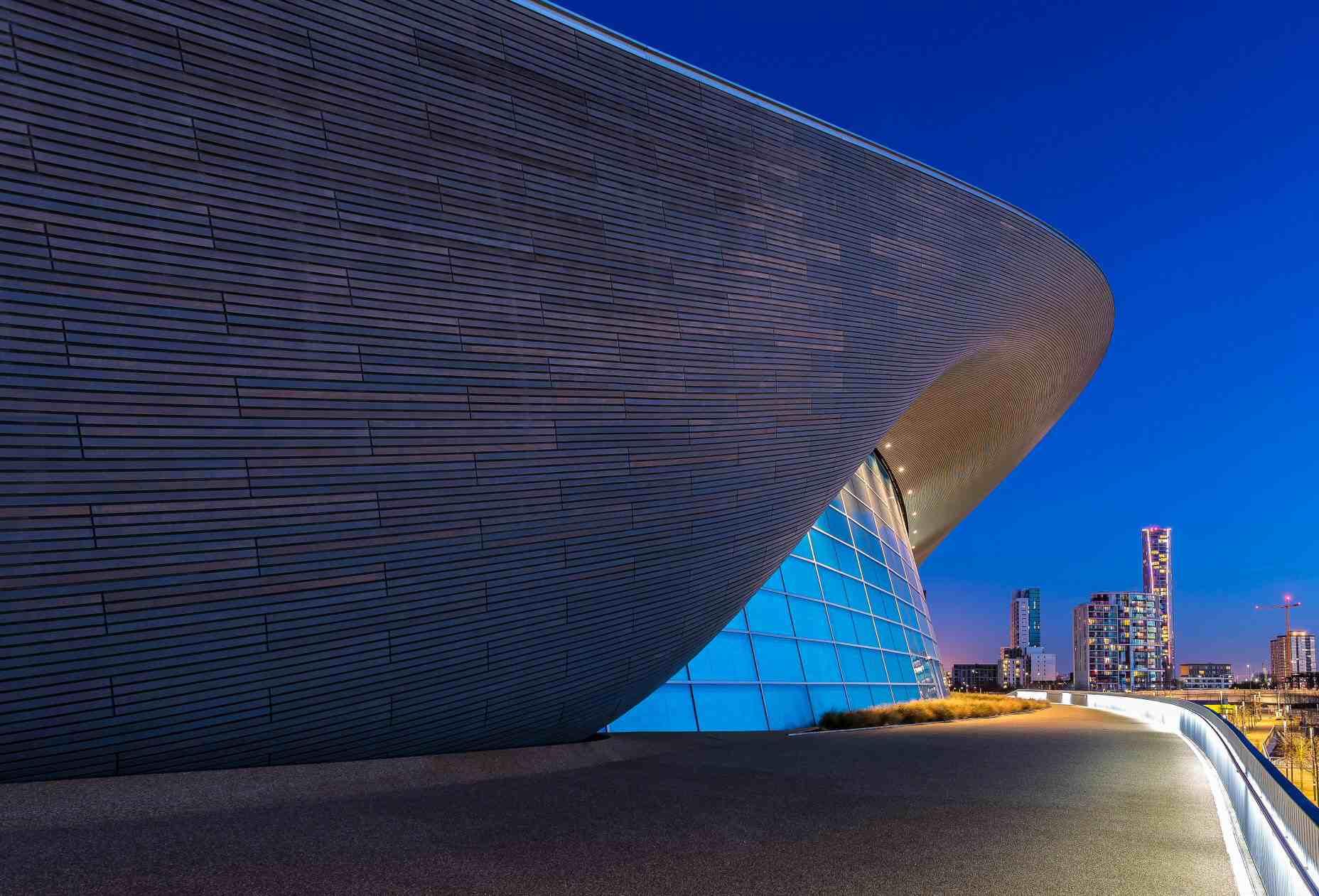 Aquatics Centre at Queen Elizabeth Olympic Park, London