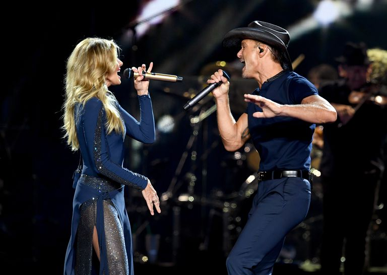 Tim McGraw And Faith Hill Perform At Staples Center