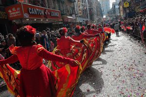 Chinese New Year celebration in NYC