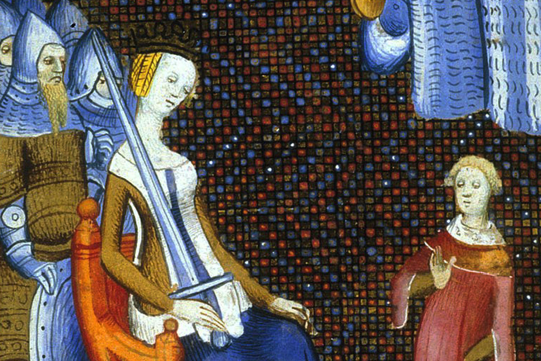 Semiramis in 15th Century Artist's Conception
