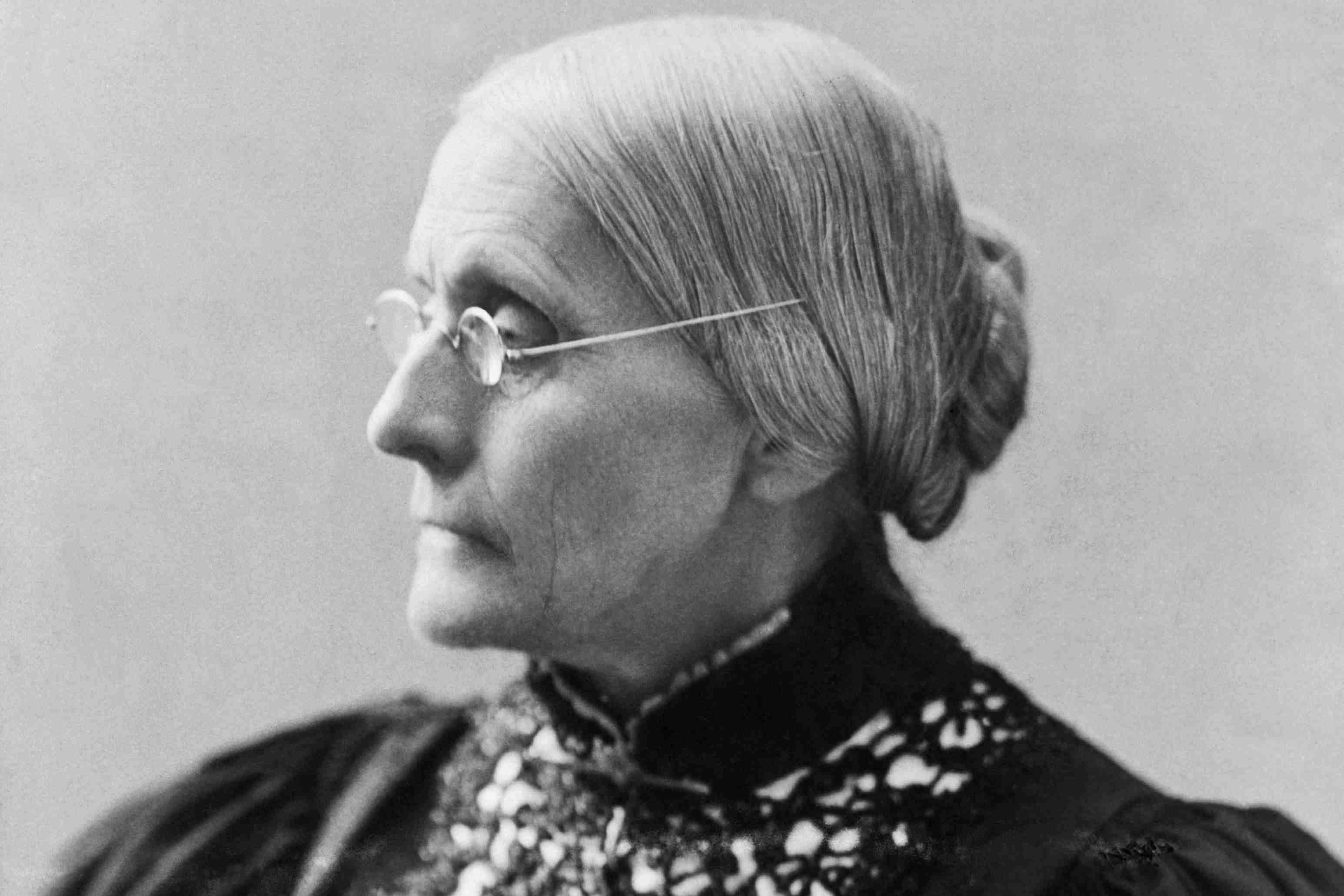 Susan B. Anthony, circa 1897