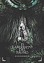 Spanish film poster of 'El Laberinto del fauno'