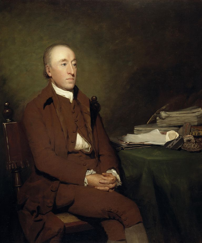 James Hutton, 1726 - 1797. Geologist