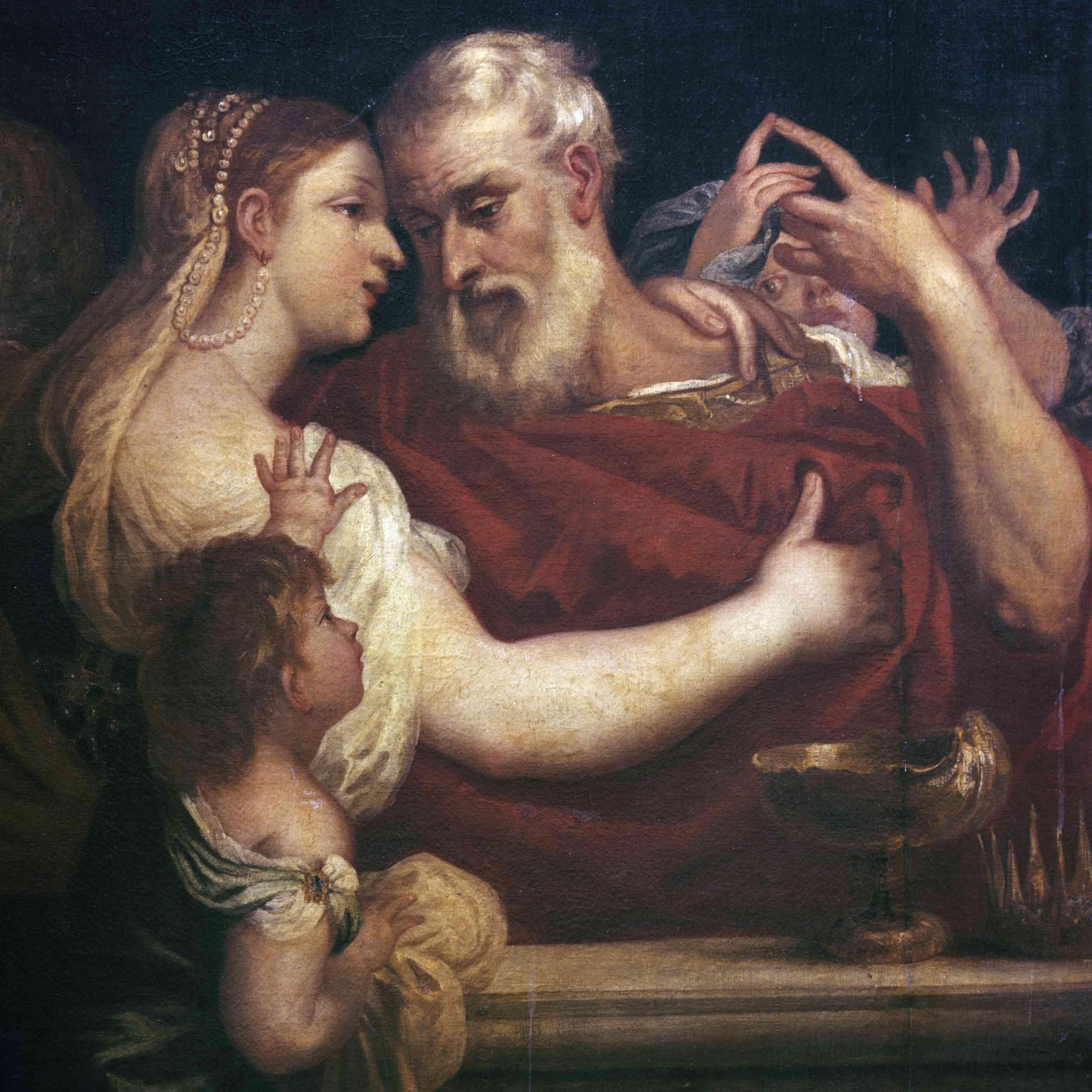 Anthony & Cleopatra by Padovanino