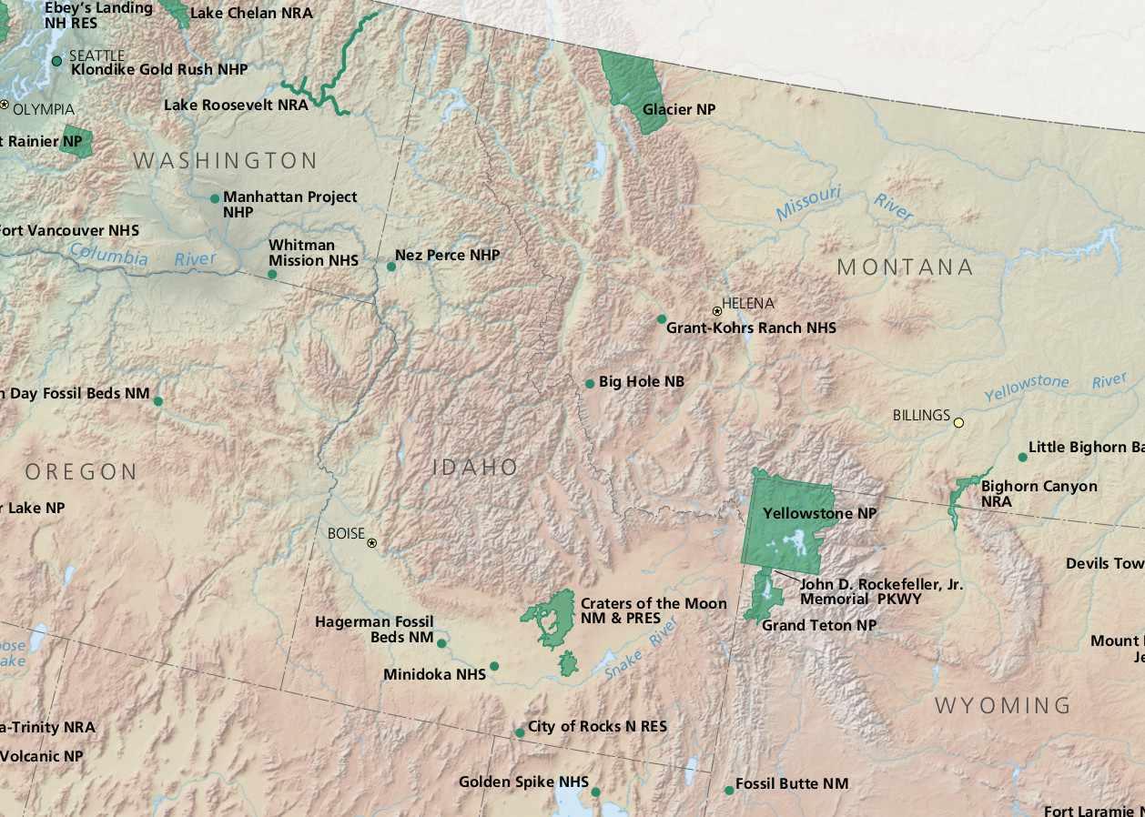 Idaho National Parks