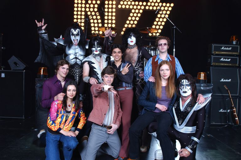 KISS Appears on 'That 70's Show'