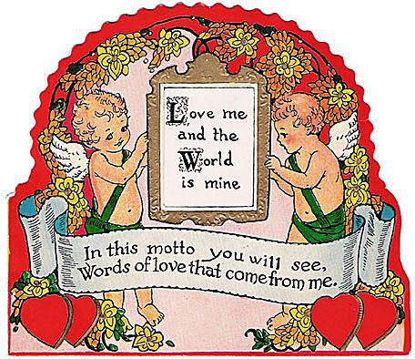 Collecting Vintage Valentine Postcards
