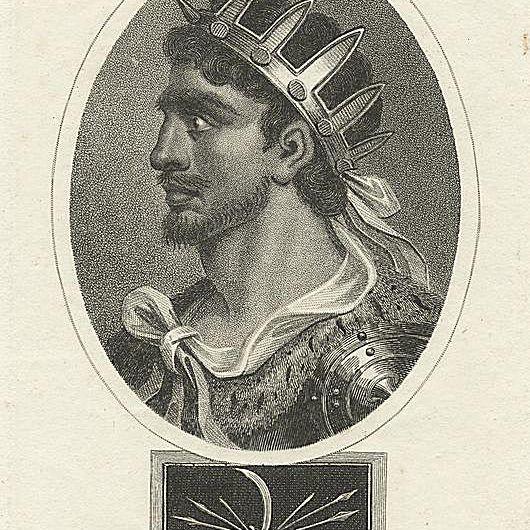 Image ID: 1102729 Attila, King of the Huns / J. Chapman, sculp. (March 10, 1810)