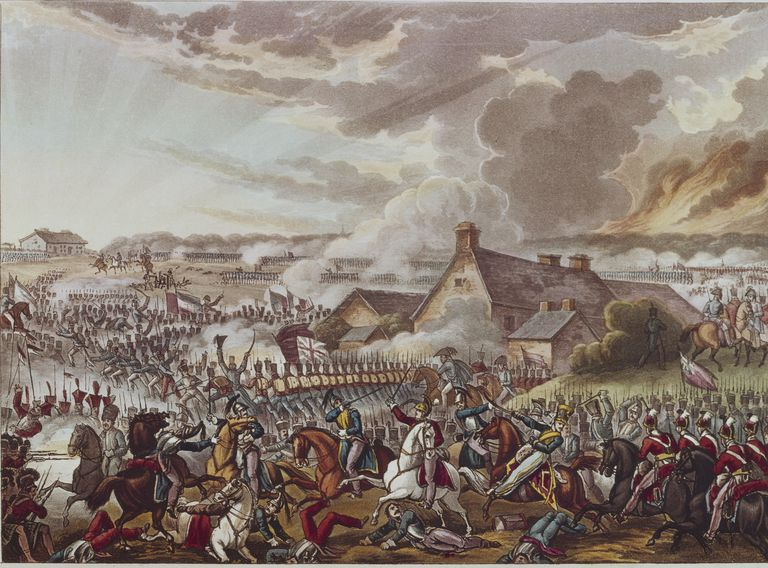 Battle at Waterloo