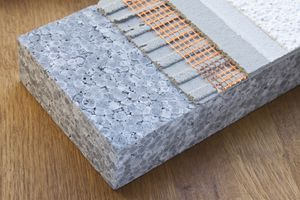 EPS is used to make insulation