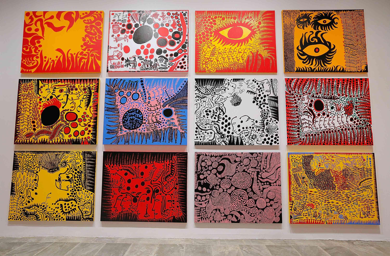Yayoi Kusama Retrospective Exhibition Opening Reception