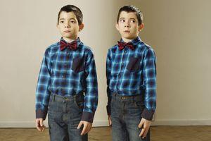 2 boys dressed identically