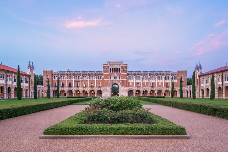 Lovett Hall at Rice University in Houston