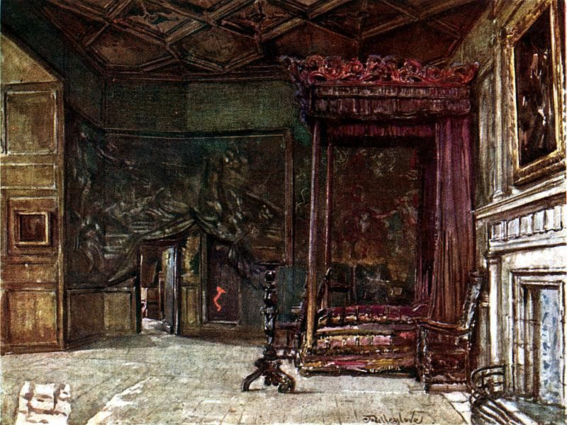 Apartment of Mary, Queen of Scots, at Holyrood Palace