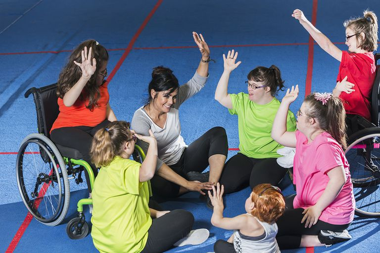 Physical education with students with disabilities
