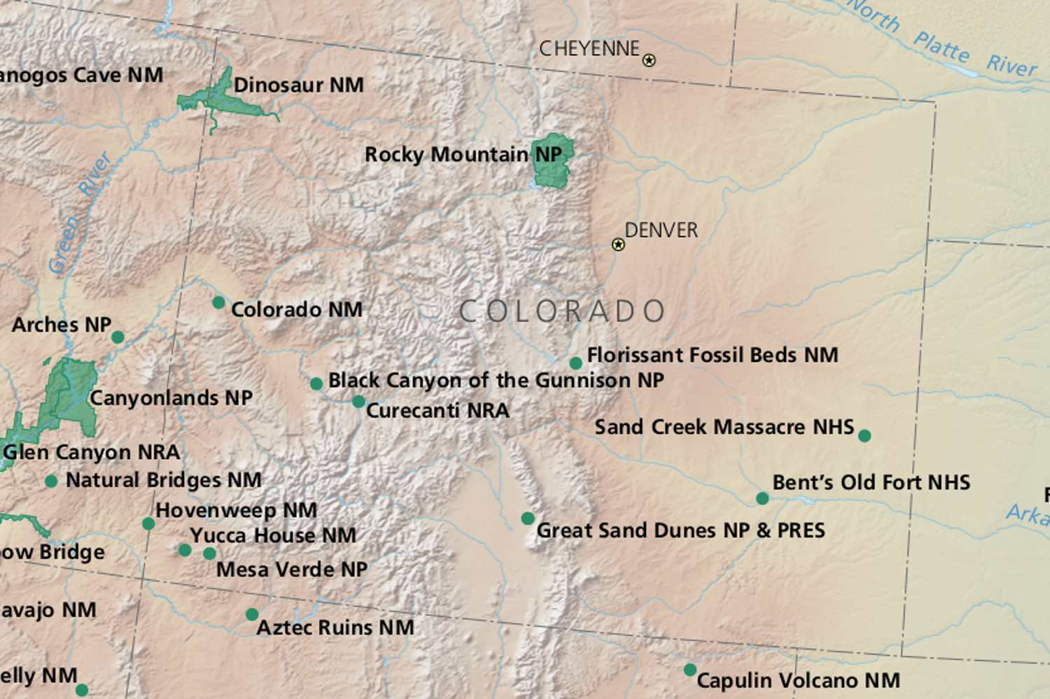 Colorado National Parks: Rocky Mountains, Deep Canyons