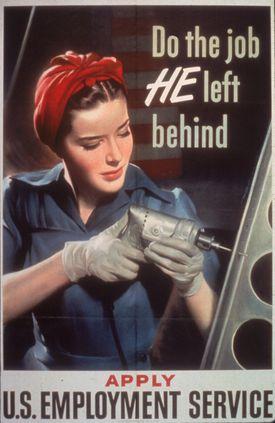 1943 World War II Poster