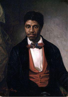 Painting of Dred Scott.