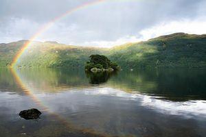 The Buchanan's originated in the lands around Loch Lomond, Scotland