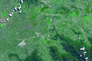 Aerial Photograph of Kuk Swamp, New Guinea