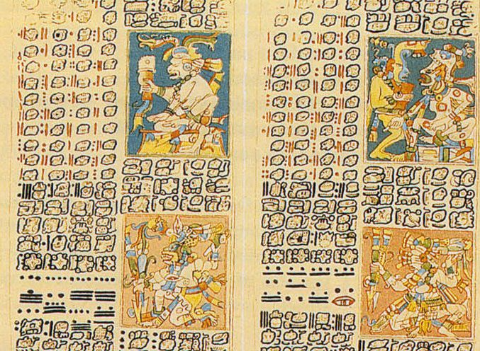 The Maya Used Glyphs for Writing