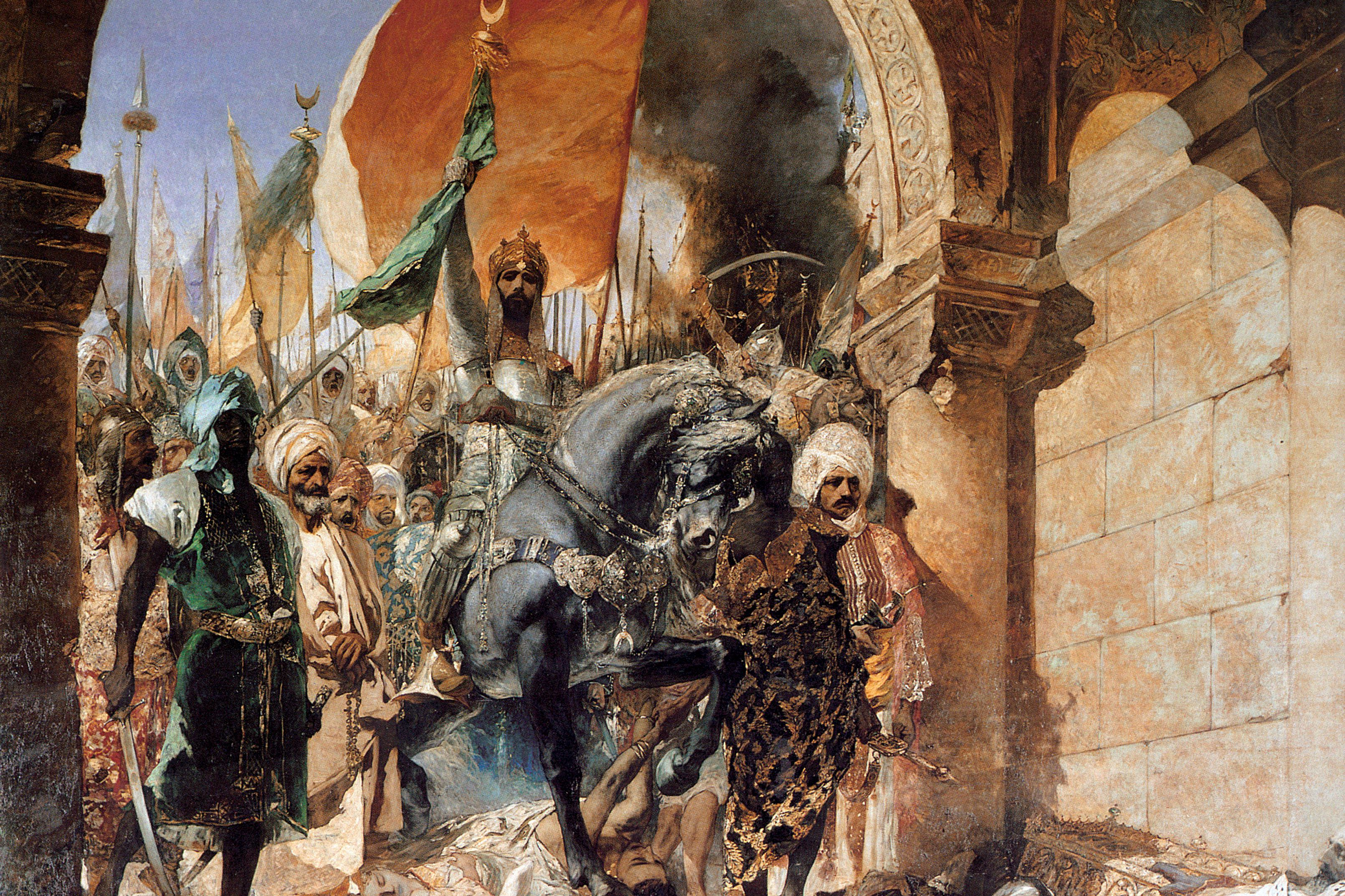 The Entry of Mehmet II into Constantinople