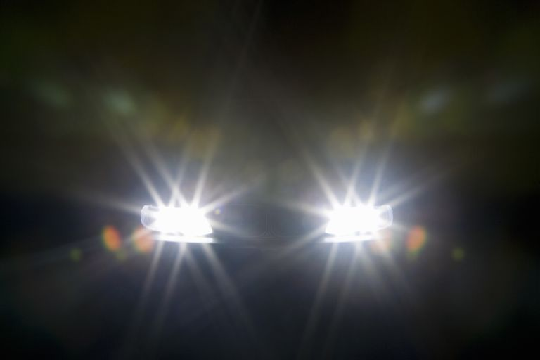 high beam headlights for seeing and being seen