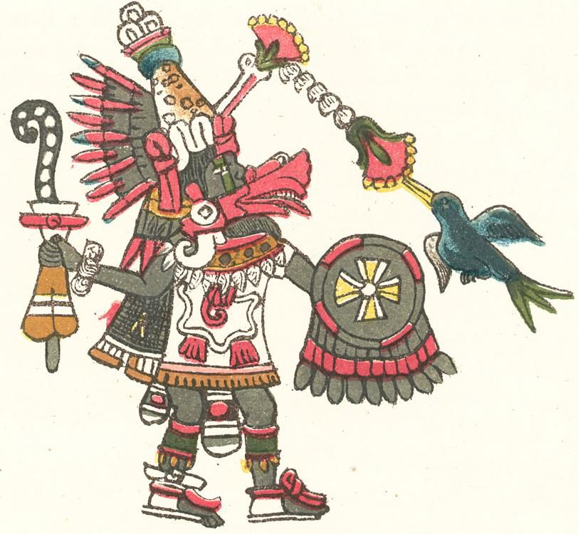 Quetzalcoatl, as depicted in the Codex Magliabechiano