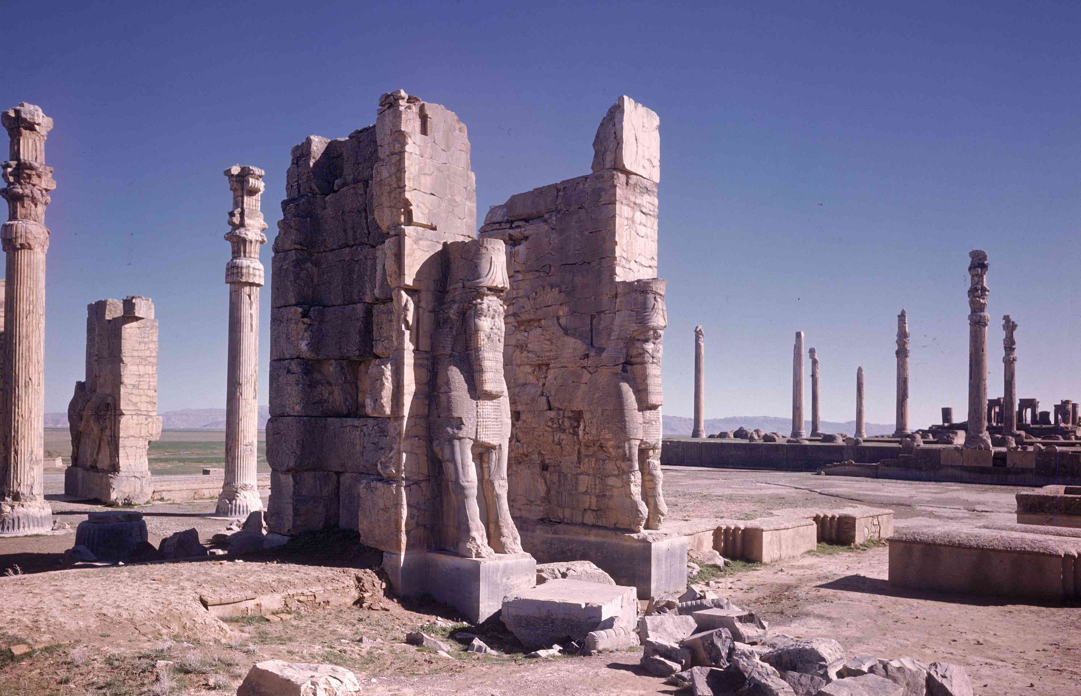 Gateway of All Lands in Xerxes' City of Persepolis