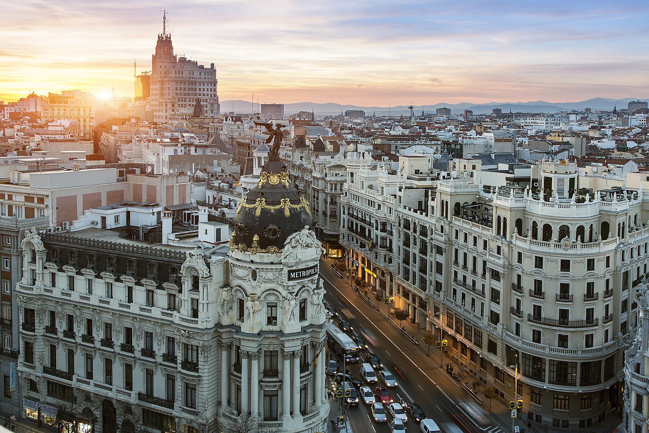 Madrid es uno de los destinos favoritos de residentes por inversión en España