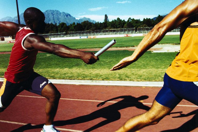 Strategies for the 4 x 100 Relay Race