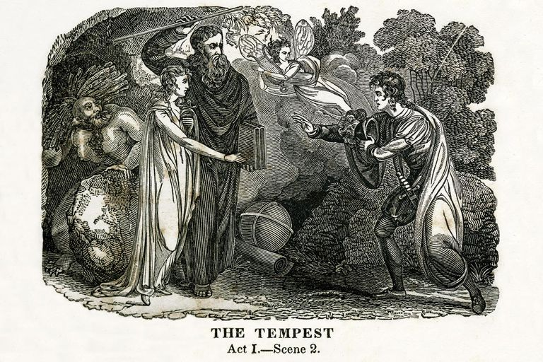 which character best represents the colonizer in the tempest