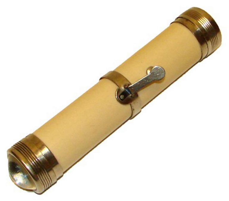 Flashlight from 1899