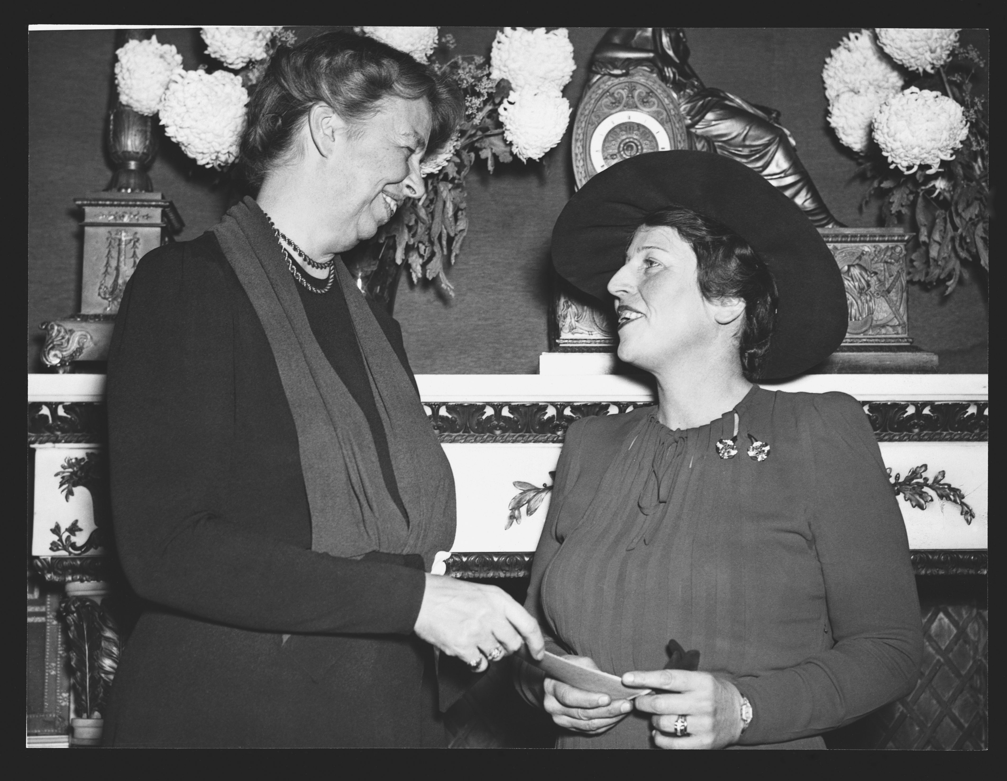 Mrs Roosevelt and Pearl S. Buck