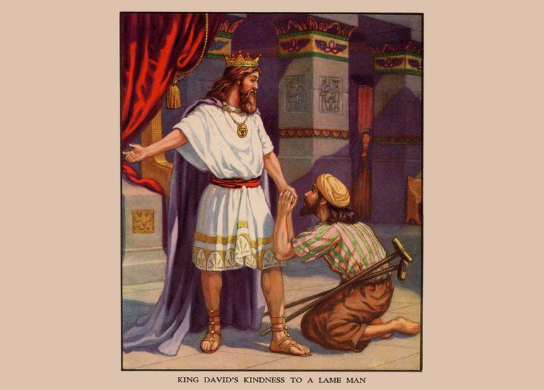 Mephibosheth King Davids Kindness To Public Domain