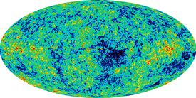 Detailed full-sky map of the oldest light in the universe captured by the Wilkinson Microwave Anisotropy Probe