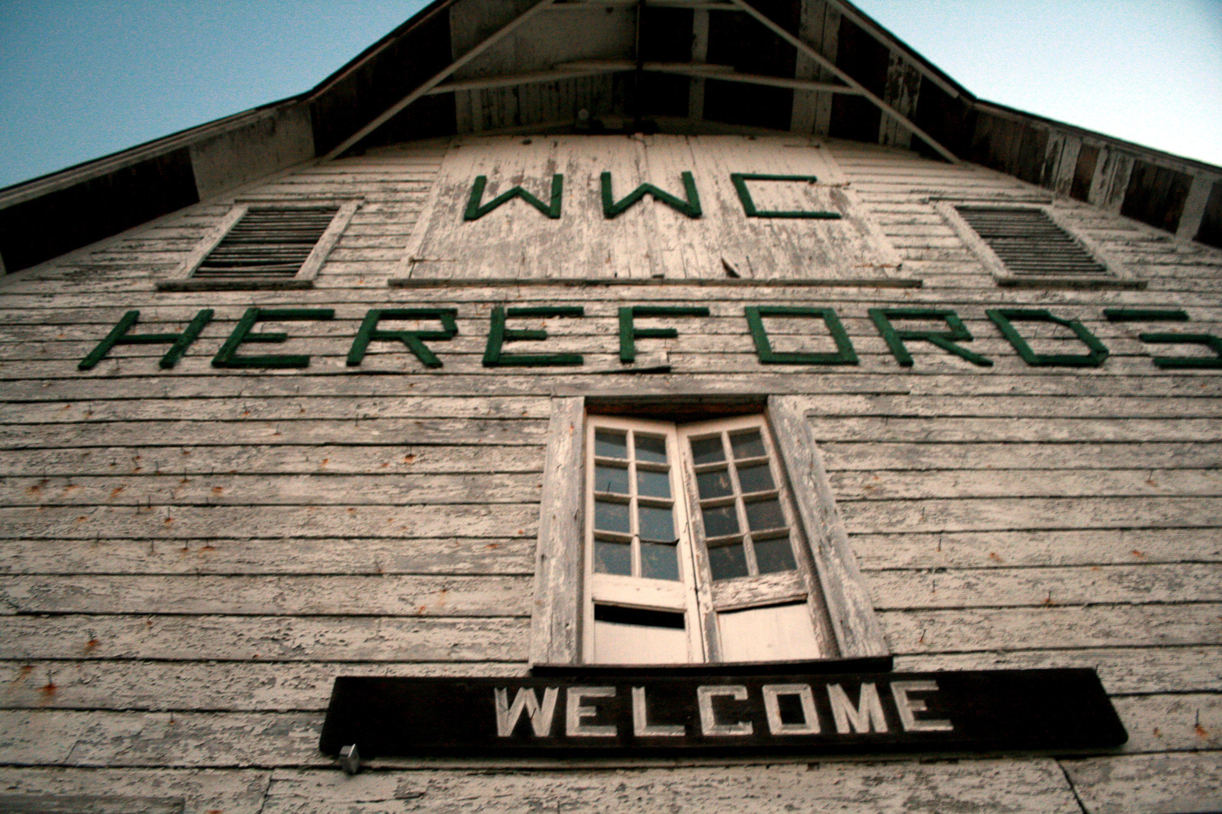 The rustic Warren Wilson College barn